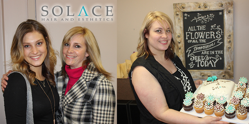 solace hair | esthetics anniversary event