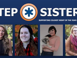 step sisters team coldest night of the year