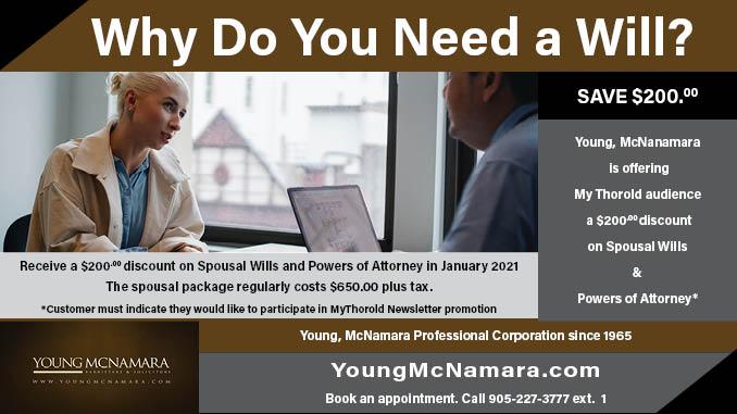 Young McNamara Wills Power of Attorney MY Thorold